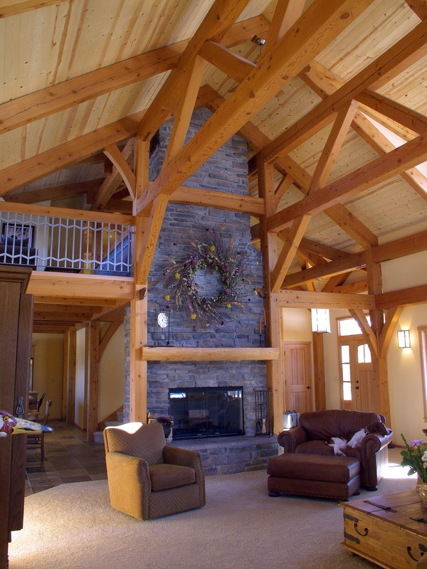 Earthwood Timber Frame Homes Of Oregon Home